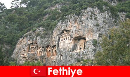 Fethiye városa Törökország délnyugati részén