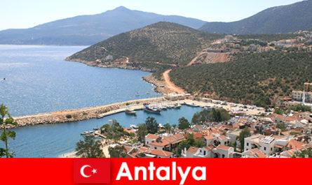 Strandok Törökország Antalya
