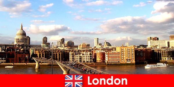 Szabadidős tevékenységek a turisták számára a város London Of England
