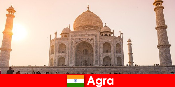 Lenyűgöző palota komplexumok Agra India egy utazási tipp a nyaralók