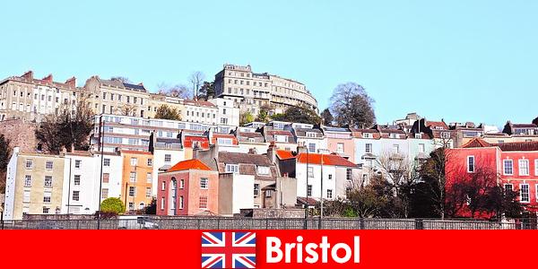 Bristol a város ifjúsági kultúra és barátságos légkört az ismeretlen