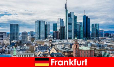 Turisztikai látványosságok Frankfurtban, a nagyváros a sokemeletes épületek
