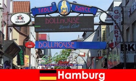 Hamburg Reeperbahn - Éjszakai bordélyházak és escort szolgáltatás szexturizmus