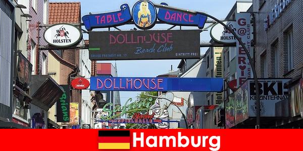 Hamburg Reeperbahn – Éjszakai bordélyházak és escort szolgáltatás szexturizmus