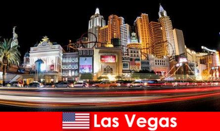 Las Vegas a világ fővárosa szórakozás gyönyörködik külföldiek az éjszakai élet