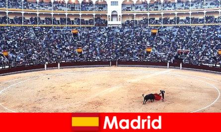 Hagyományos fesztiválok Madrid meghökkent minden idegen