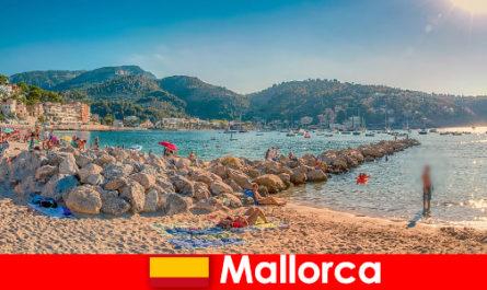 Mallorca a világhírű fél mérföld és gyönyörű strandok