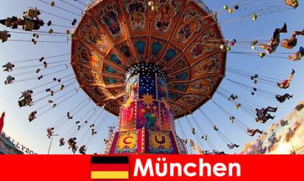 A müncheni nemzetközi sportesemények és oktoberfestek mágnesként vonzzák a vendégeket