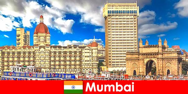 Mumbai fontos metropolisz Indiában a gazdaság és a turizmus