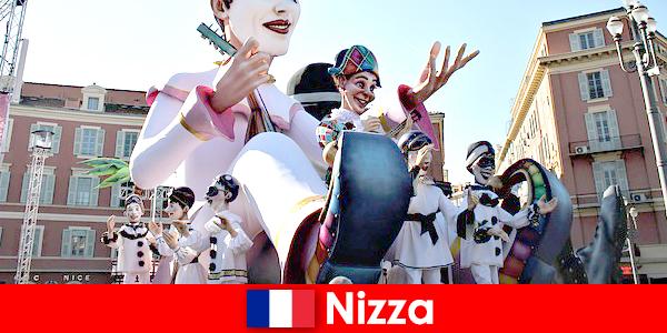 Turisztikai attrakció Nizzában gyerekekkel és nagyszerű látnivalókkal