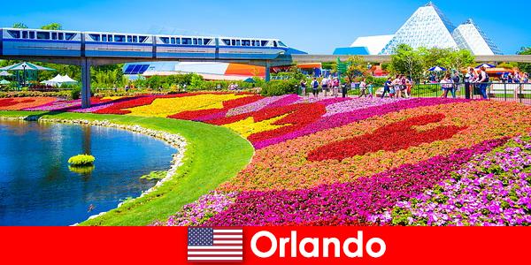 Orlando a turisztikai fővárosa az Egyesült Államok számos szórakoztató parkok