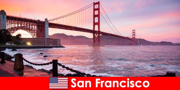 Tapasztalja meg a luxus nyaralás az Egyesült Államokban San Francisco