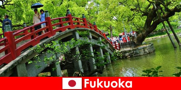 Fukuoka egy nyugodt és nemzetközi légkör, magas életminőséga a bevándorlók