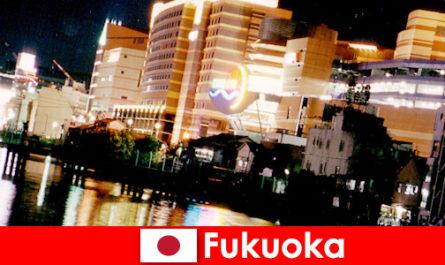 Fukuoka számos éjszakai klubok, éjszakai klubok vagy éttermek egyik legjobb találkozóhely a nyaralók