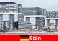 Lenyűgöző sokemeletes épületek Kölnben meghökkent idegenek