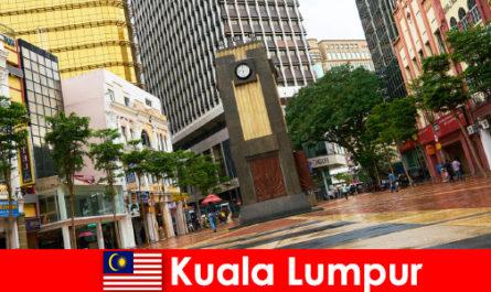 Kuala Lumpur kulturális és gazdasági központja a legnagyobb nagyvárosi terület Malajzia