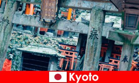 A háború előtti időszak kiotói japán építészetét mindig csodálják a külföldiek