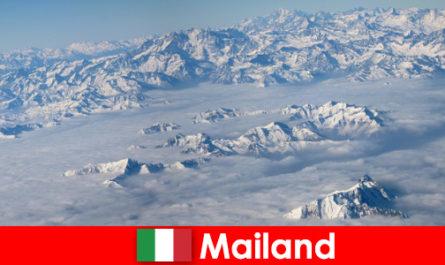 Milánó az egyik legjobb síközpont a turisták számára Olaszországban