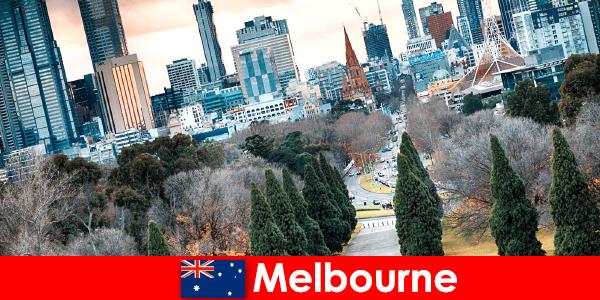 Melbourne kulturális sokszínűsége is örömmel tölti el a rövid szüneteket