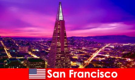 San Francisco élénk kulturális és gazdasági központja a bevándorlók