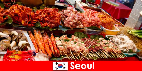 Szöul is híres utazók körében a finom és kreatív utcai étel