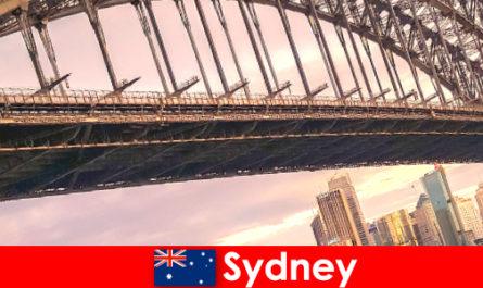 Sydney a hidak egy nagyon népszerű úti cél ausztrália utazók