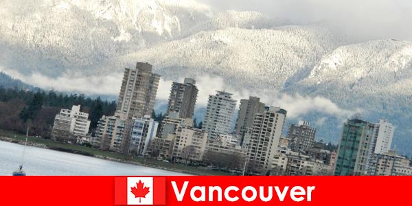 Vancouver csodálatos városa az óceán és a hegyek között számos lehetőséget nyit meg a sportturisták számára