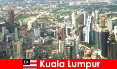 Kuala Lumpur Malajziában Ázsia szerelmesei jönnek ide újra és újra