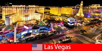 Káprázatos játékparadicsom Las Vegasban, az Egyesült Államokban a világ minden tájáról érkező vendégek számára