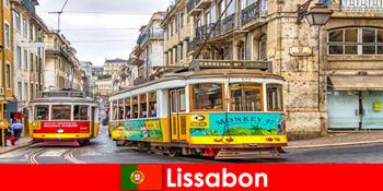 Történelmi utcák Lisszabon Portugália egy kis nosztalgia a kulturális utazók