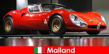 Milánó Olaszország mindig népszerű úti cél az autó szerelmeseinek a világ minden tájáról
