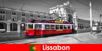 Lisszabon Portugáliában turisták ismerik Önt, mint a fehér város az Atlanti-óceánon