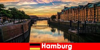 Építészeti szépség és szórakozás rövid szünetekre Hamburgban Németországban