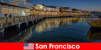 San Francisco az Egyesült Államokban, a vízparti kerület titkos kedvence nyaralók