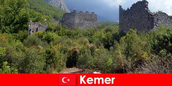 Tanulmányút az ősi romok Kemer Törökország felfedezők