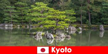 Japán kertek meghívja idegenek pihentető séták Kiotóban