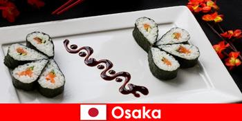 Oszaka Japán idegeneknek kulináris túra a városban
