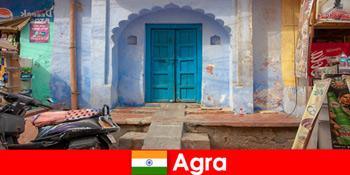 Utazás külföldre Agra India a vidéki falusi élet