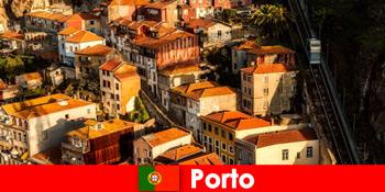 Hétvégi séta Porto Portugália óvárosában