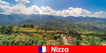 Vonattal a falvakon és hegyeken keresztül Nizza Franciaország hátországában