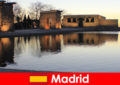 Népszerű úti cél a kirándulások Madrid Spanyolország az európai diákok