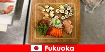 Fukuoka Japán népszerű úti cél a kulináris utazók számára