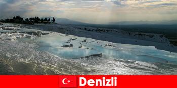 Spa nyaralás turistáknak a denizli törökországi gyógy termálforrásokban