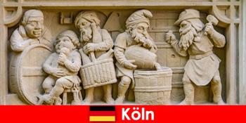 Sörfőzde helyi konyhával Kölnben Németország az európai heti vendégek számára