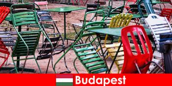 Érdekes bisztrók, bárok és éttermek várják az utazókat a gyönyörű Budapest Magyarországon